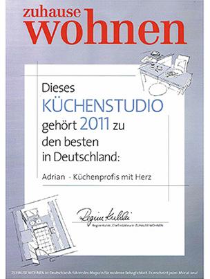 Zuhause Wohnen – 2011