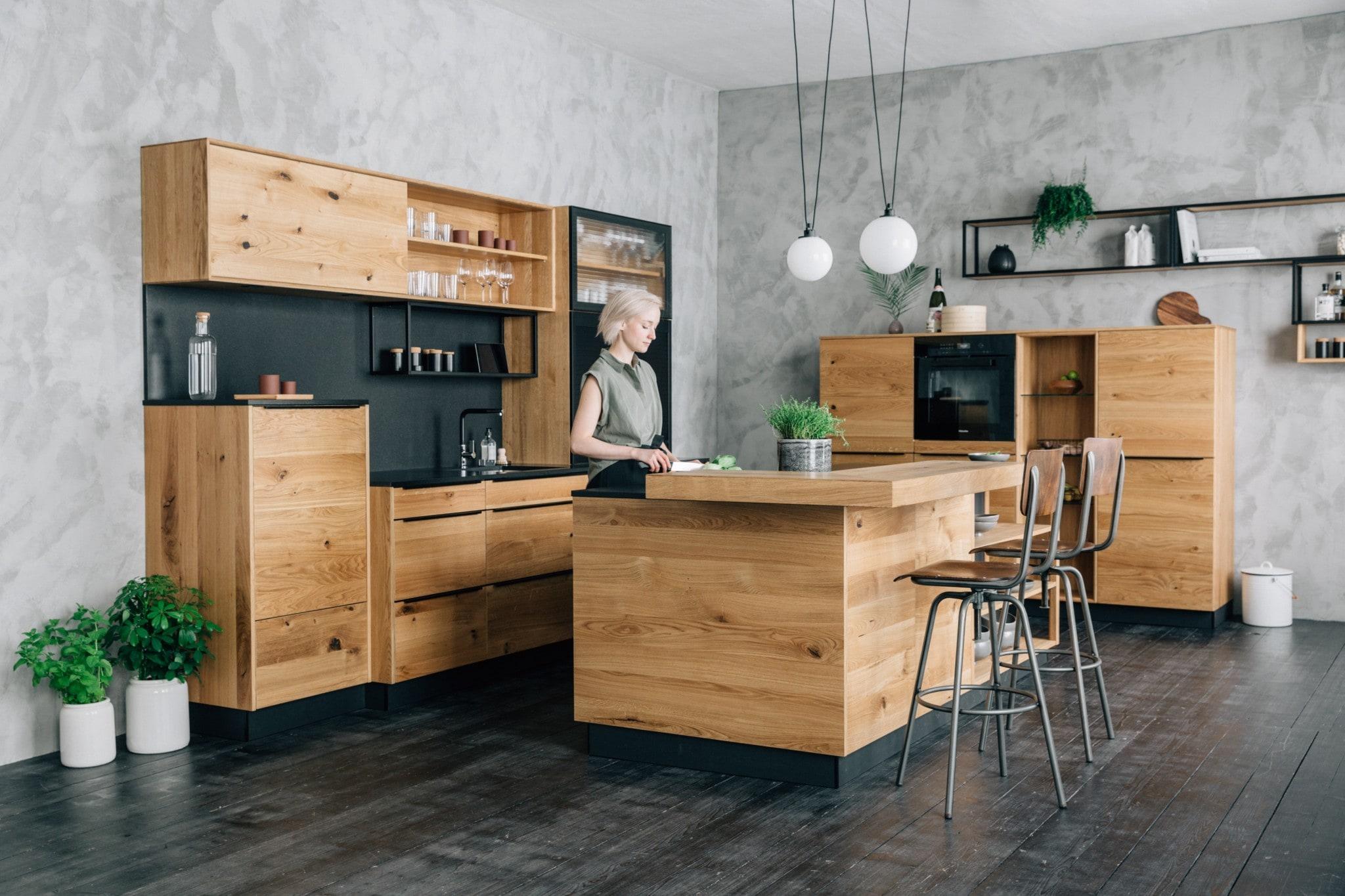 Massivholzküchen von walden • adrian küchen - Küchen in Aschaffenburg