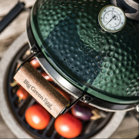 The Big Green Egg – Brot und Pizza
